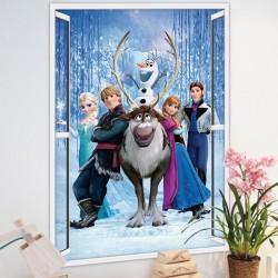 Samolepka na zeď Ledové Království | Frozen
