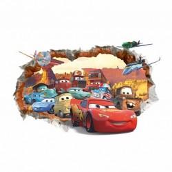 Samolepka na zeď AUTA | Cars