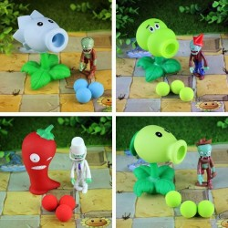 Figurky Plants vs Zombies 4 ks I