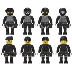 Figurky speciální tým SWAT k LEGO 8 ks