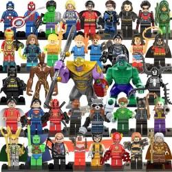 Figurky k LEGO MARVEL & DC Comics 38 ks