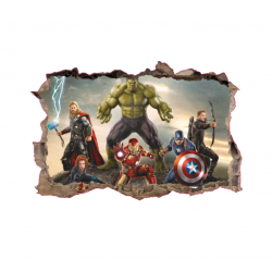 Samolepka na zeď Avengers II