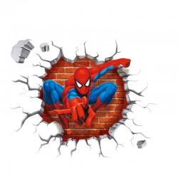 Samolepka na zeď Spiderman Marvel