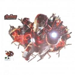 Samolepka na zeď Iron Man | Marvel