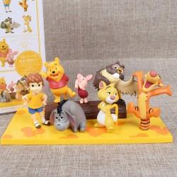 Figurky Disney Medvídek Pú 7 ks