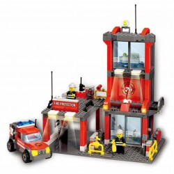 Stavebnice požární stanice 300 dílků