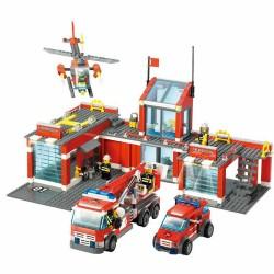Stavebnice požární stanice 774 dílků