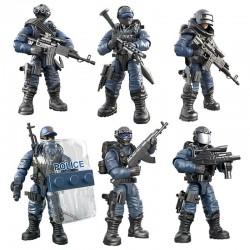 Figurky SWAT Policie 8 ks
