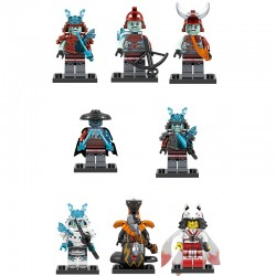 Figurky Ninjago k LEGO 8 ks V