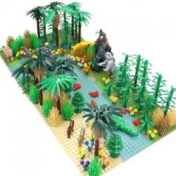 Stavebnice Džungle Jurský Svět k LEGO