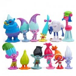 Figurky Trollové 12 ks