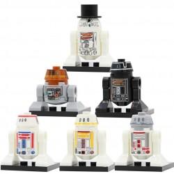 Figurky Robotů k LEGO STAR WARS 8 ks