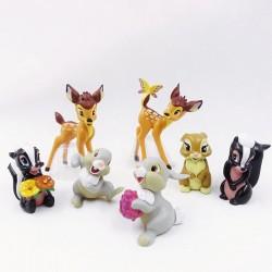 Figurky Bambi 7 ks