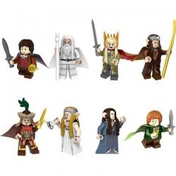 Figurky Hobbit a Pán Prstenů k LEGO 8 ks III