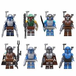 Figurky k LEGO STAR WARS Mandalorian 8 ks