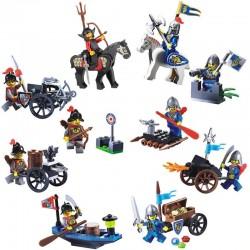 Figurky Rytíři k LEGO 10 ks