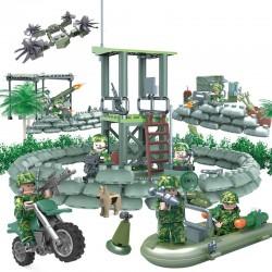 Stavebnice Vojenská Základna SWAT k LEGO