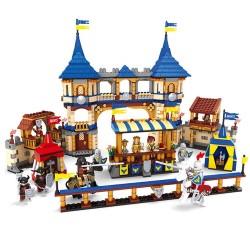 Stavebnice Souboj Rytířů k LEGO 1467 ks