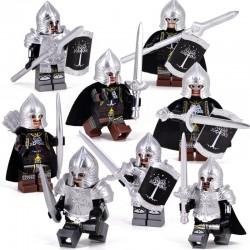 Rytíři z Pána Prstenu k LEGO 8 ks