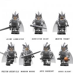 Figurky Rytíři Hra o Trůny k LEGO 8 ks II