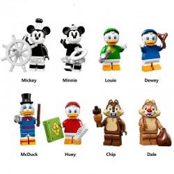 Figurky Kačer Donald k LEGO 8 ks