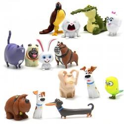 Figurky Tajný Život Mazlíčků 14 ks