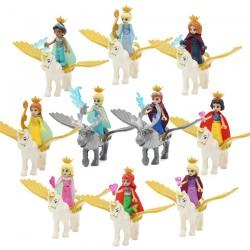 Figurky Princezny a koně k LEGO 10 ks