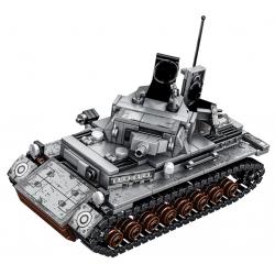 Stavebnice Německý TANK k LEGO 596 ks