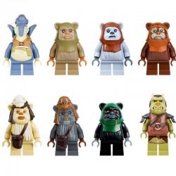 Figurky k LEGO STAR WARS Ewoci 8 ks