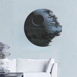 Samolepka na zeď Hvězda smrti Star Wars