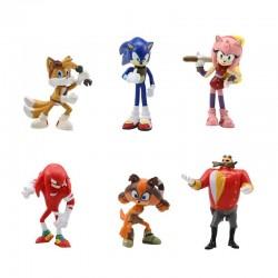 Figurky Ježek Sonic 6 ks II