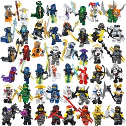 MEGA SET Figurky k LEGO NINJAGO 48 ks