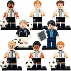 Figurky fotbalisté Německa k LEGO 8 ks
