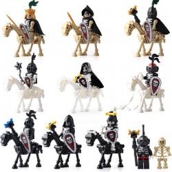 Figurky kostlivci a koně k LEGO 20 ks II