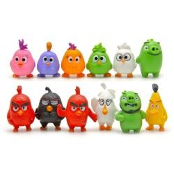 Figurky Angry Birds 12 ks