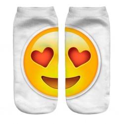 Ponožky Zamilovaný Emoji