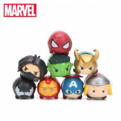 Figurky Prasátka Marvel 8 ks
