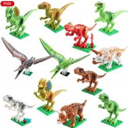Figurky Jurský Svět Dinosauři k LEGO 12 ks