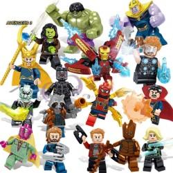 SET Figurky k LEGO Avengers 16 ks