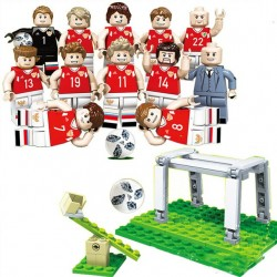 SET Figurky k LEGO fotbalisti 12ks