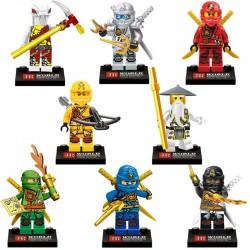 Figurky Ninjago k LEGO 8 ks