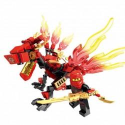 Figurka Ninjago DRAK - červený